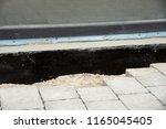waterproofing foundation... | Shutterstock . vector #1165045405