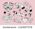 various traditional style... | Shutterstock .eps vector #1165057378