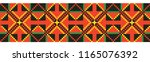 colored embroidery border.... | Shutterstock .eps vector #1165076392