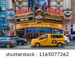 new york  usa   may 20  2018 ... | Shutterstock . vector #1165077262