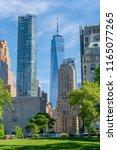 new york  usa   may 21  2018 ... | Shutterstock . vector #1165077265