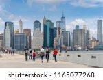 new york  usa   may 21  2018 ... | Shutterstock . vector #1165077268