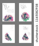 abstract cover template with... | Shutterstock .eps vector #1165082938