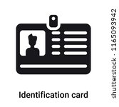 identification card with... | Shutterstock .eps vector #1165093942