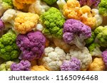 Different Colorful Cauliflowers ...