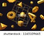 creative design poster  minimal ... | Shutterstock .eps vector #1165109665