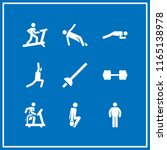 sportswear icon. this set with... | Shutterstock .eps vector #1165138978