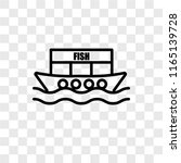houseboat vector icon isolated... | Shutterstock .eps vector #1165139728