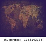 old map background | Shutterstock . vector #1165143385