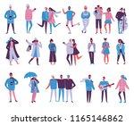 vector illustration in flat... | Shutterstock .eps vector #1165146862