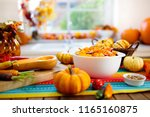 pumpkin  onion and carrot ready ... | Shutterstock . vector #1165160875