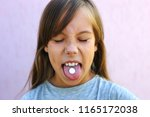 child refuses to take... | Shutterstock . vector #1165172038