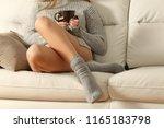perfect woman waxed legs in... | Shutterstock . vector #1165183798