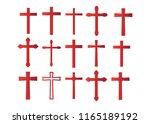 cross christian. christian... | Shutterstock .eps vector #1165189192