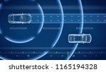 autonomous self driving... | Shutterstock . vector #1165194328