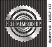 free membership silver shiny... | Shutterstock .eps vector #1165194688