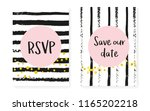 bridal shower set with dots and ...