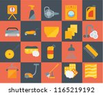 set of 20 icons such as drying  ... | Shutterstock .eps vector #1165219192
