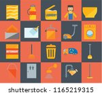 set of 20 icons such as wiper ... | Shutterstock .eps vector #1165219315