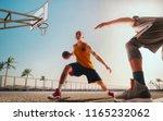 Streetball Basketball Player Action Sunset - Fine Art prints