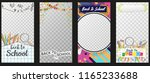 back to school vector stories...   Shutterstock .eps vector #1165233688