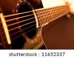 guitar side view   string ...   Shutterstock . vector #11652337