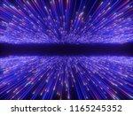 3d render  big bang  galaxy... | Shutterstock . vector #1165245352