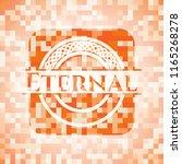 eternal orange mosaic emblem... | Shutterstock .eps vector #1165268278