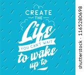 inspirational quote  motivation.... | Shutterstock .eps vector #1165280698