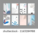 set of creative universal... | Shutterstock .eps vector #1165284988
