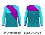 templates of sportswear designs ...   Shutterstock .eps vector #1165291495