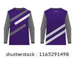 templates of sportswear designs ...   Shutterstock .eps vector #1165291498