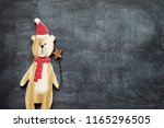 christmas decoration background ... | Shutterstock . vector #1165296505