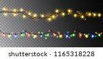 vector realistic seamless light ... | Shutterstock .eps vector #1165318228