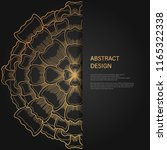 abstract luxury background  ... | Shutterstock .eps vector #1165322338