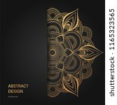 abstract luxury background  ... | Shutterstock .eps vector #1165323565