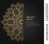 abstract luxury background  ... | Shutterstock .eps vector #1165325032