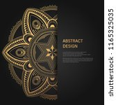 abstract luxury background  ... | Shutterstock .eps vector #1165325035