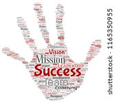 vector conceptual business... | Shutterstock .eps vector #1165350955