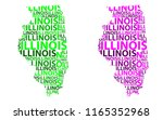 Sketch Illinois  United States...