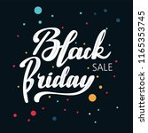 "hand drawn lettering ""black... 
