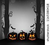 halloween forest topic image 1  ...   Shutterstock .eps vector #1165380418