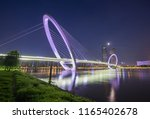 city view of nanjing eye... | Shutterstock . vector #1165402678