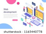 modern flat design isometric... | Shutterstock .eps vector #1165440778