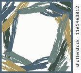 contemporary art scarf pattern | Shutterstock .eps vector #1165463812