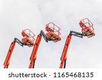 Red Basket Of Forklifts For...