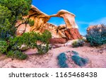 red rock canyon arch sandstone... | Shutterstock . vector #1165468438