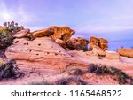 red rock canyon sandstones... | Shutterstock . vector #1165468522
