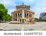 old opera or alte oper is the...   Shutterstock . vector #1165475722