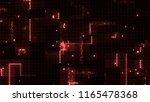3d render abstract background...   Shutterstock . vector #1165478368